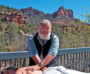 Therapy On The Rocks Our Western Myofascial Release Treatment Center Is Located In Sedona Arizona Nestled A Cliff Along Side Fifty Foot Waterfall